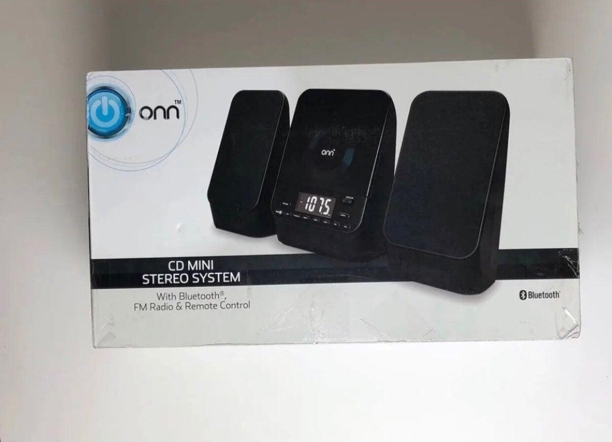 Onn Mini CD Stereo System