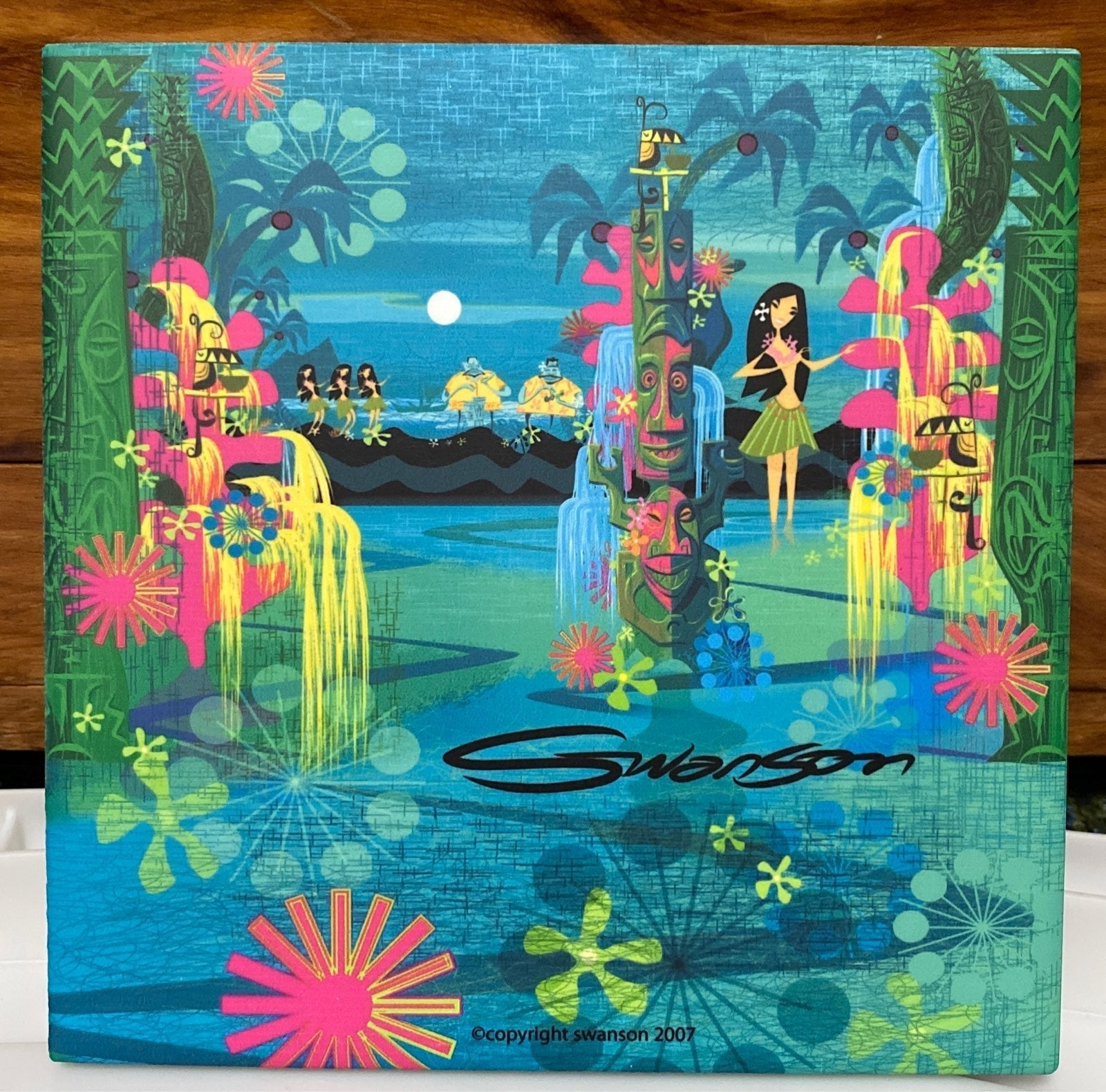 "Swanson ""Aloha Workshop"" Waikiki luau"