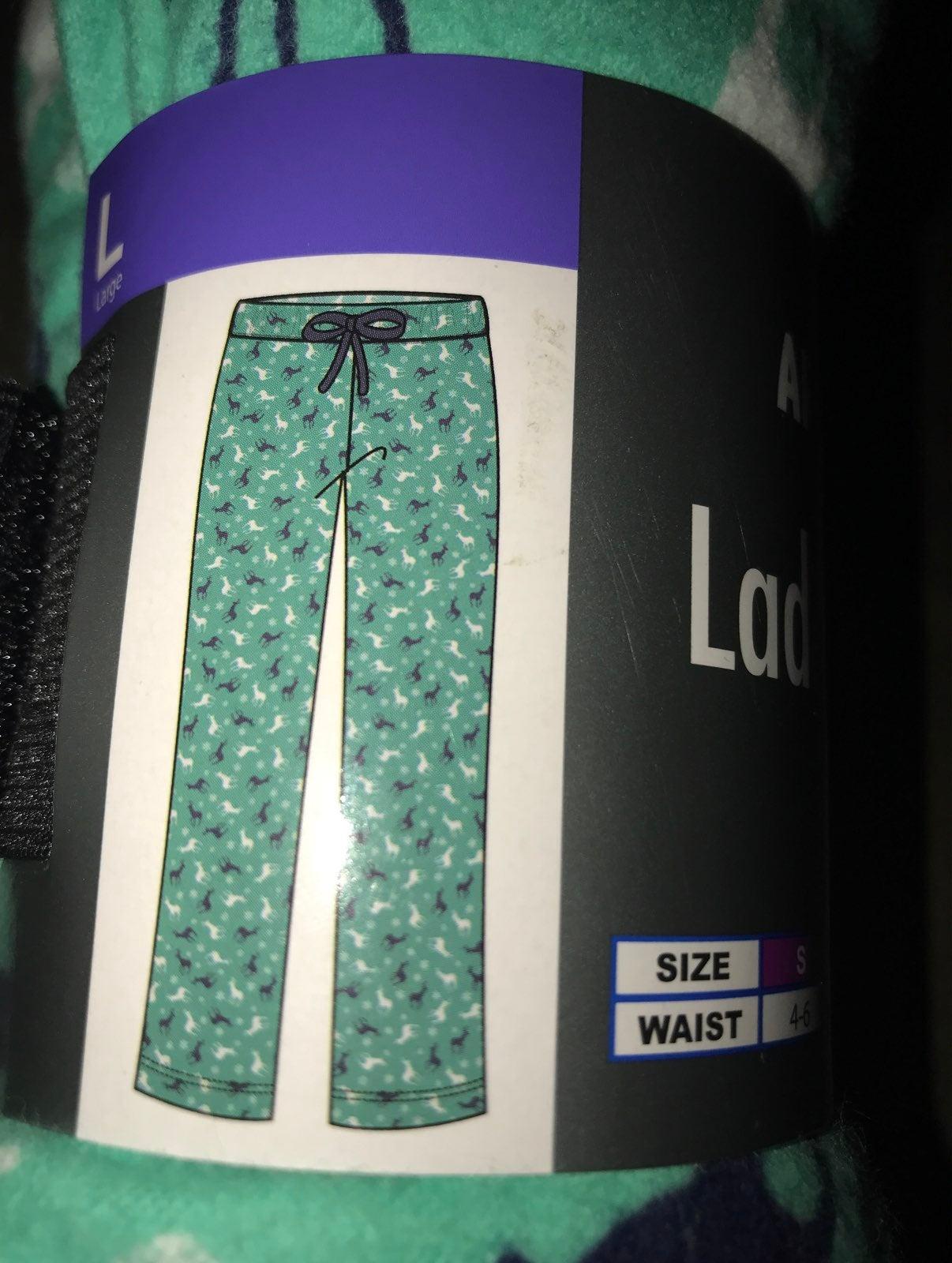 flannel pajamas sise L