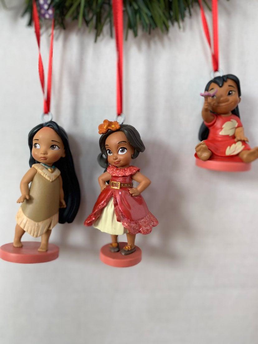 PVC DISNEY pocahontas ornaments