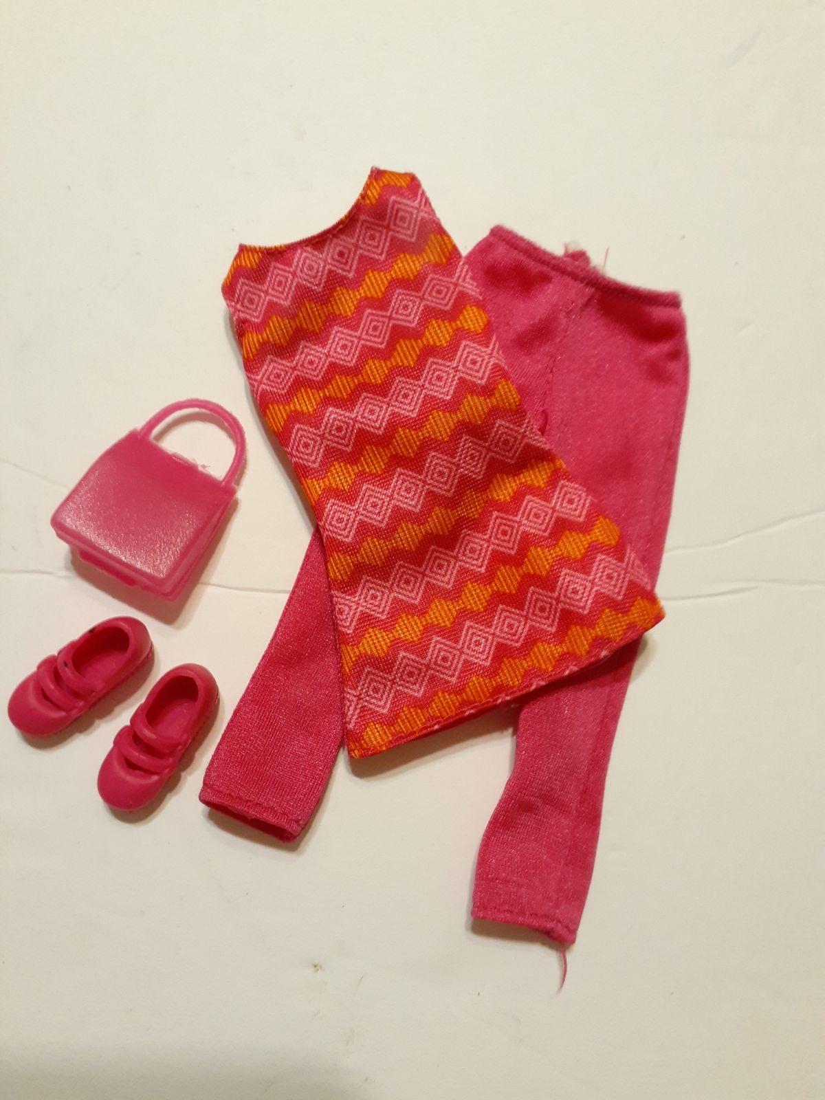 Barbie Active Clothes Outfit Lot