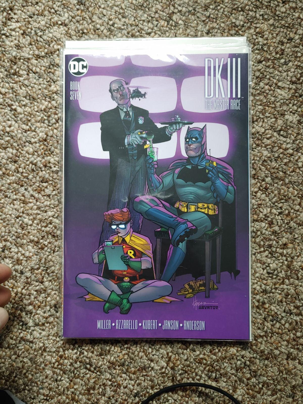 The Dark Knight: The Master Race book7