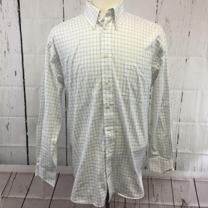 Hathaway Button Front L 16.5 Oxford Grey