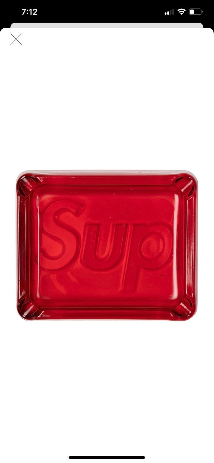 Supreme Ash Tray (New)