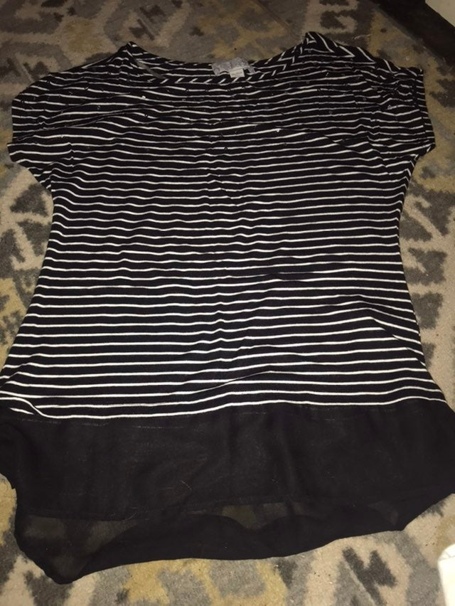 Top Womens High Low By Design Size M