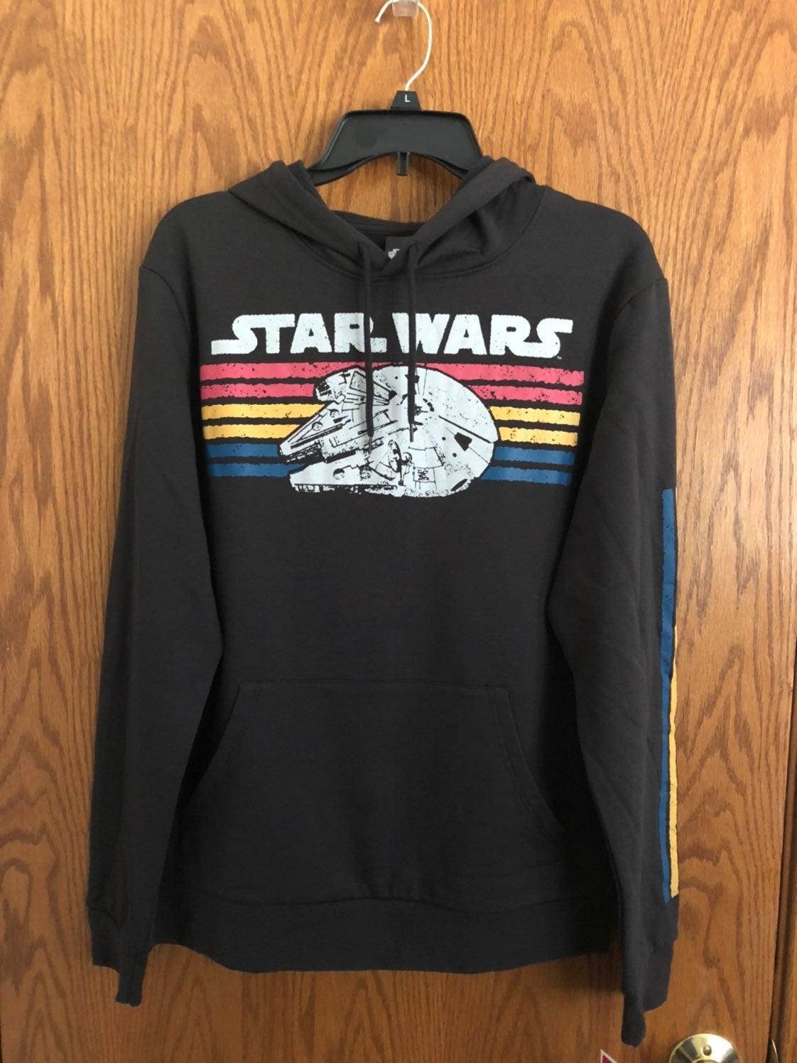 Star Wars Hoodie Sweatshirt Men Sz Med