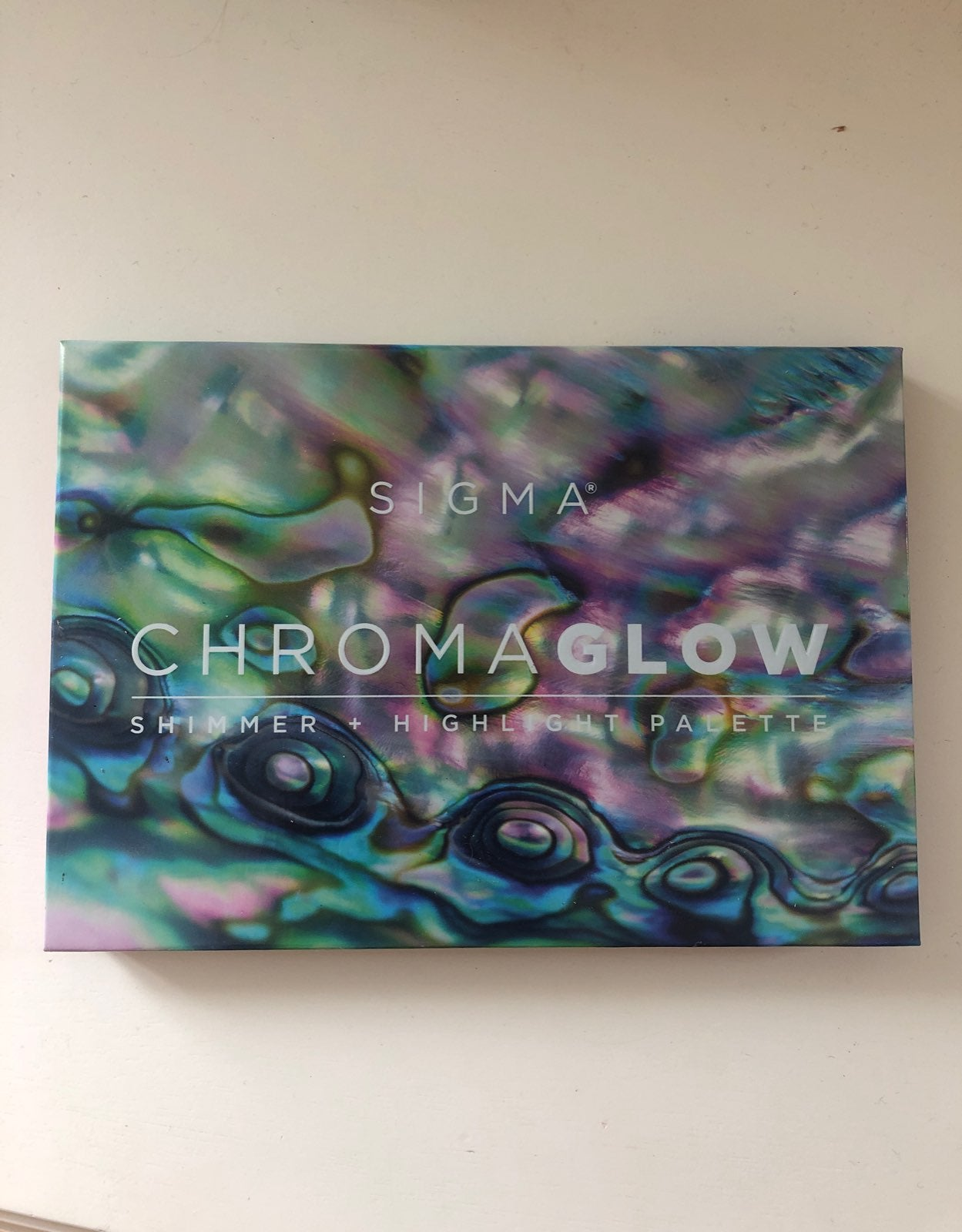 sigma chromaglow palette