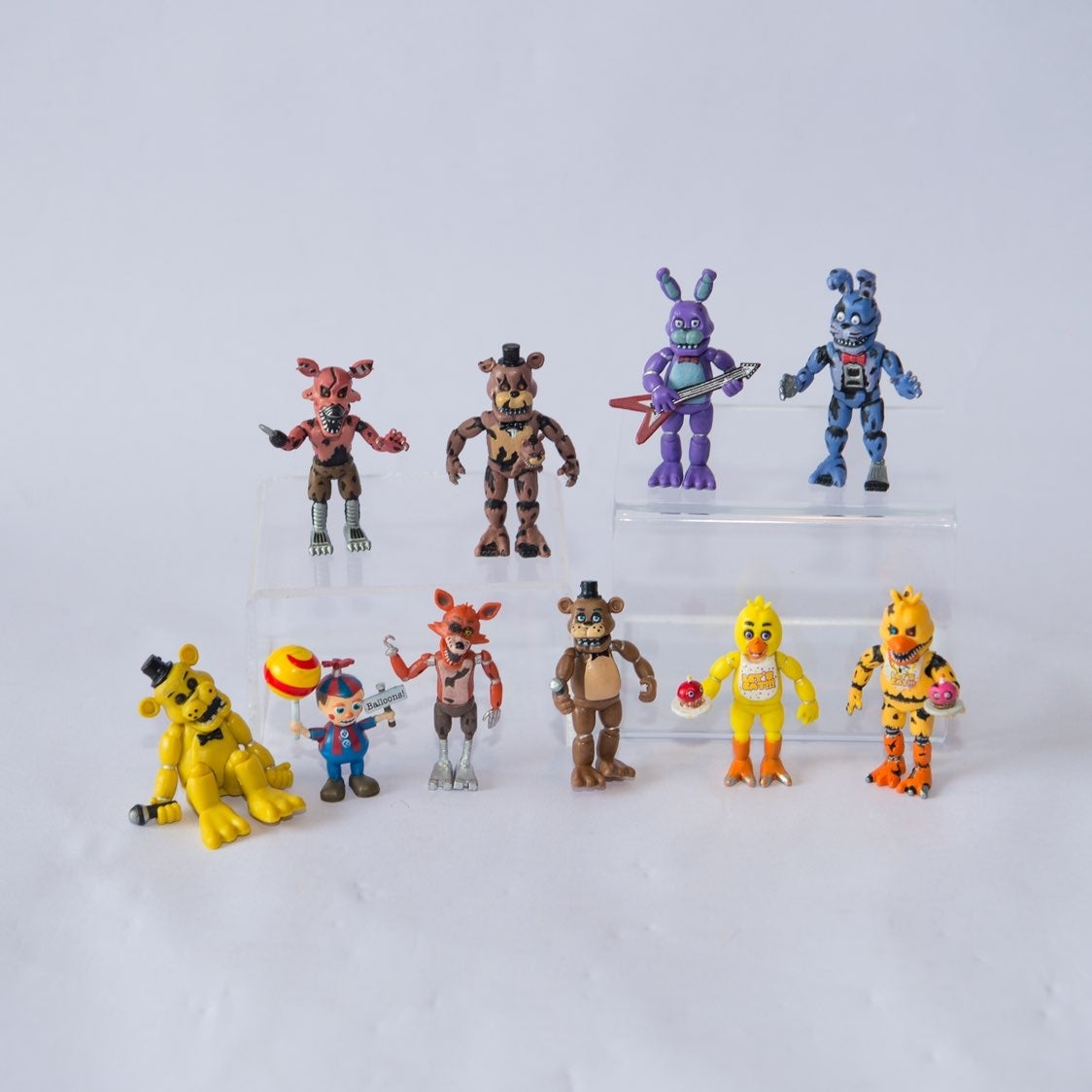 FNAF Funko Mini Vinyl Figure Lot of 10
