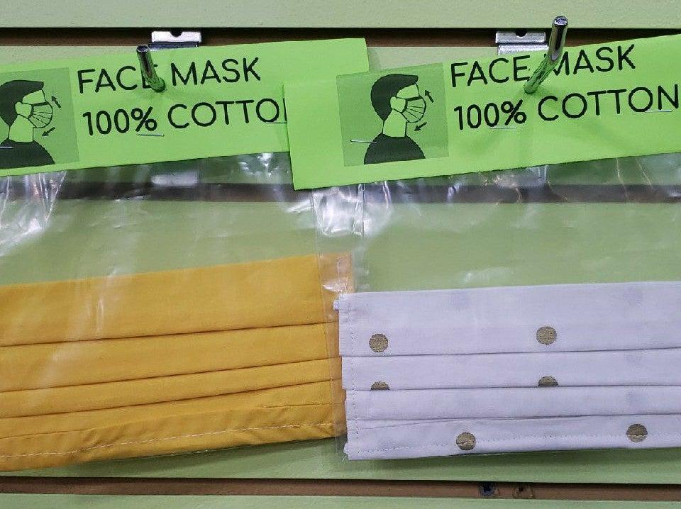 2 Face Masks