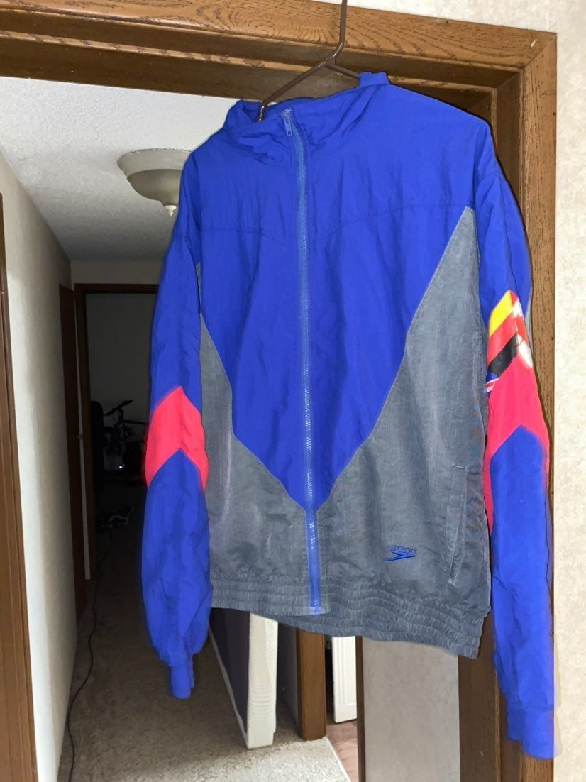 RARE Vintage Speedo Olympic Jacket