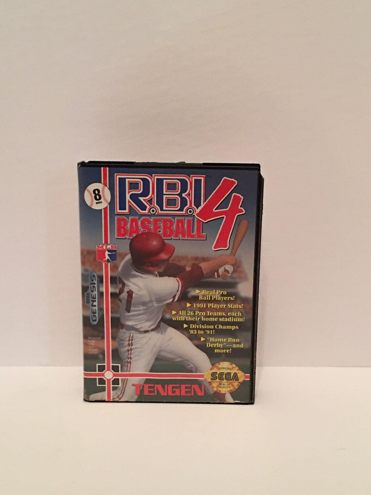 RBI Baseball 4 for Sega Genesis