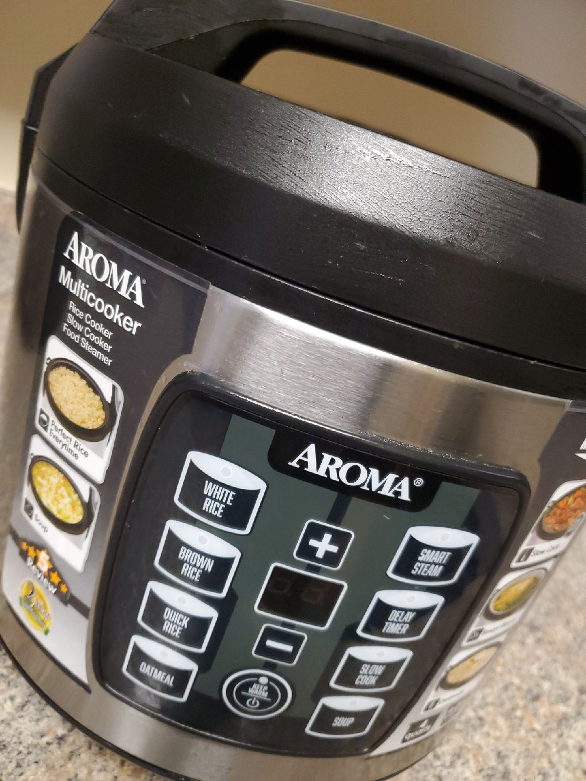 Multicooker: rice cooker,  slow cooker,