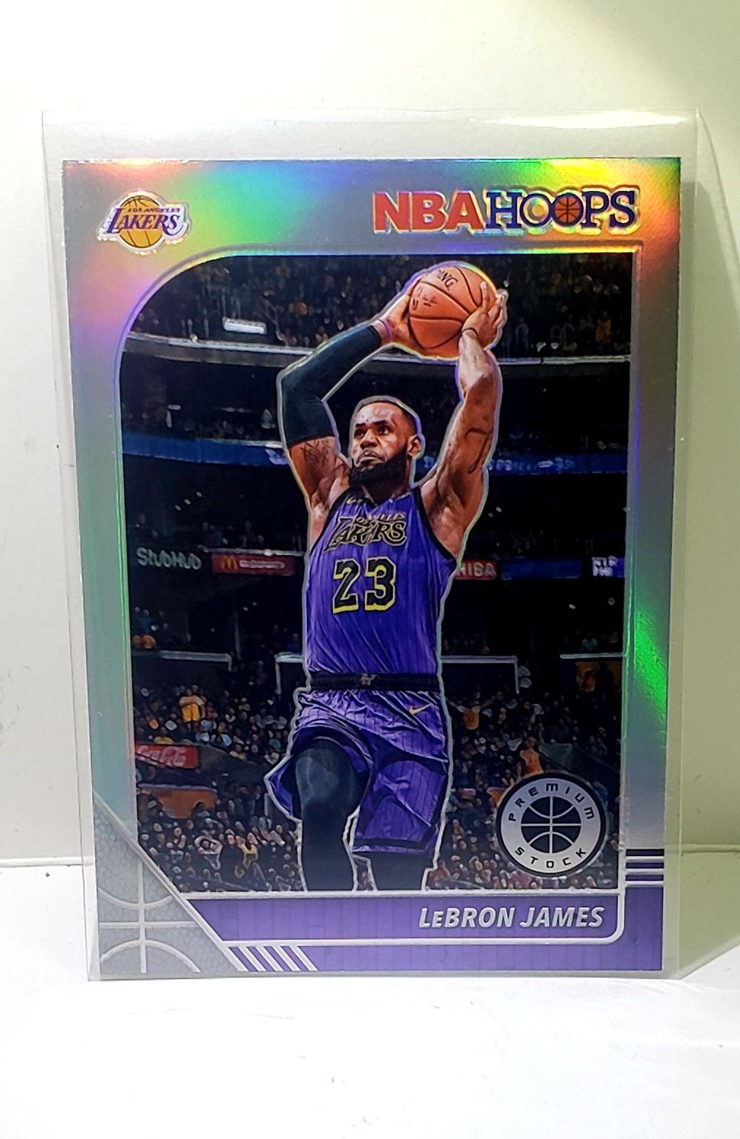 LeBron James Premium Hoops Prizm