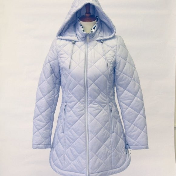 Laundry Shelli Segal Quilted Parka L