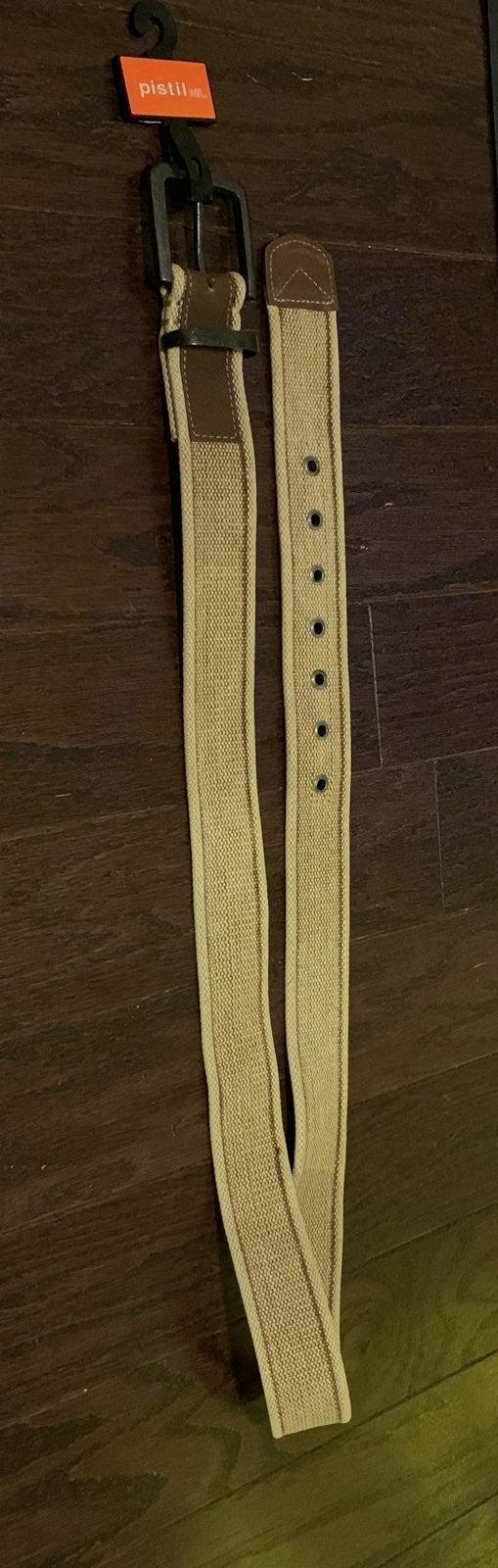 New Pistil M/L Cotton &Leather Belt