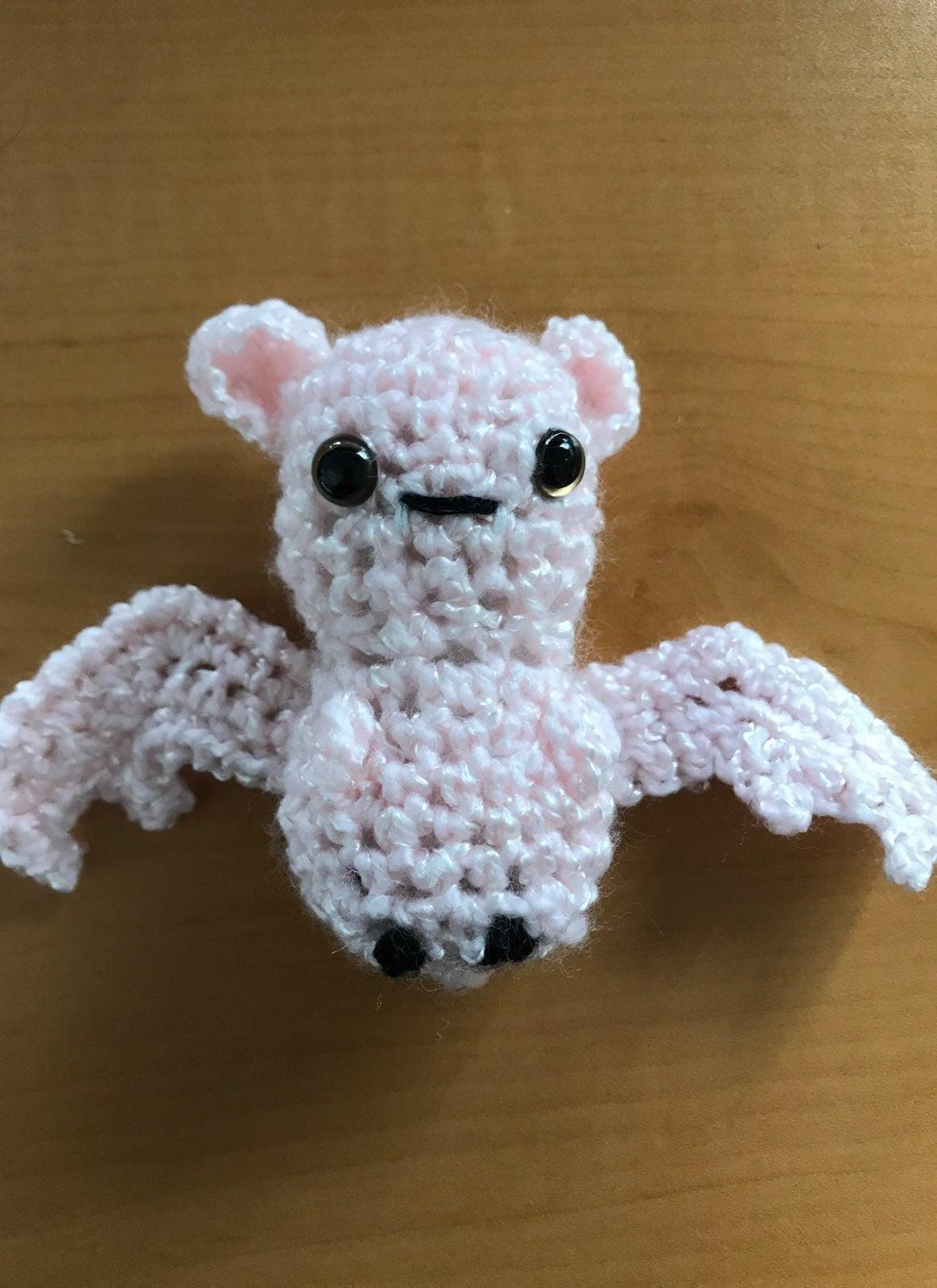 Amigurumi Crocheted Bat
