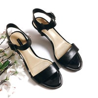 030fc5dc2 Alex Marie Black Ankle Strap Heels, 8