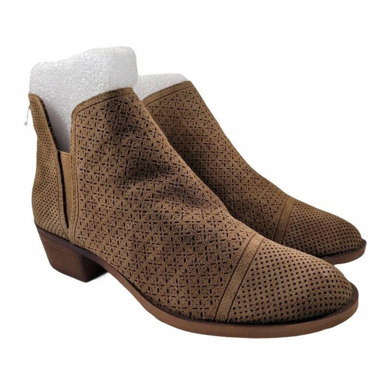 Kensie Womens Glynda Ankle Boots Suede