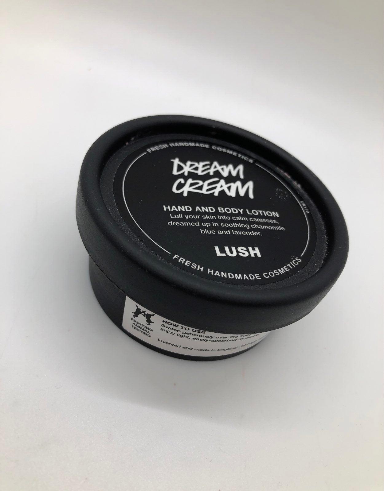 LUSH cosmetics Dream Cream Body Lotion