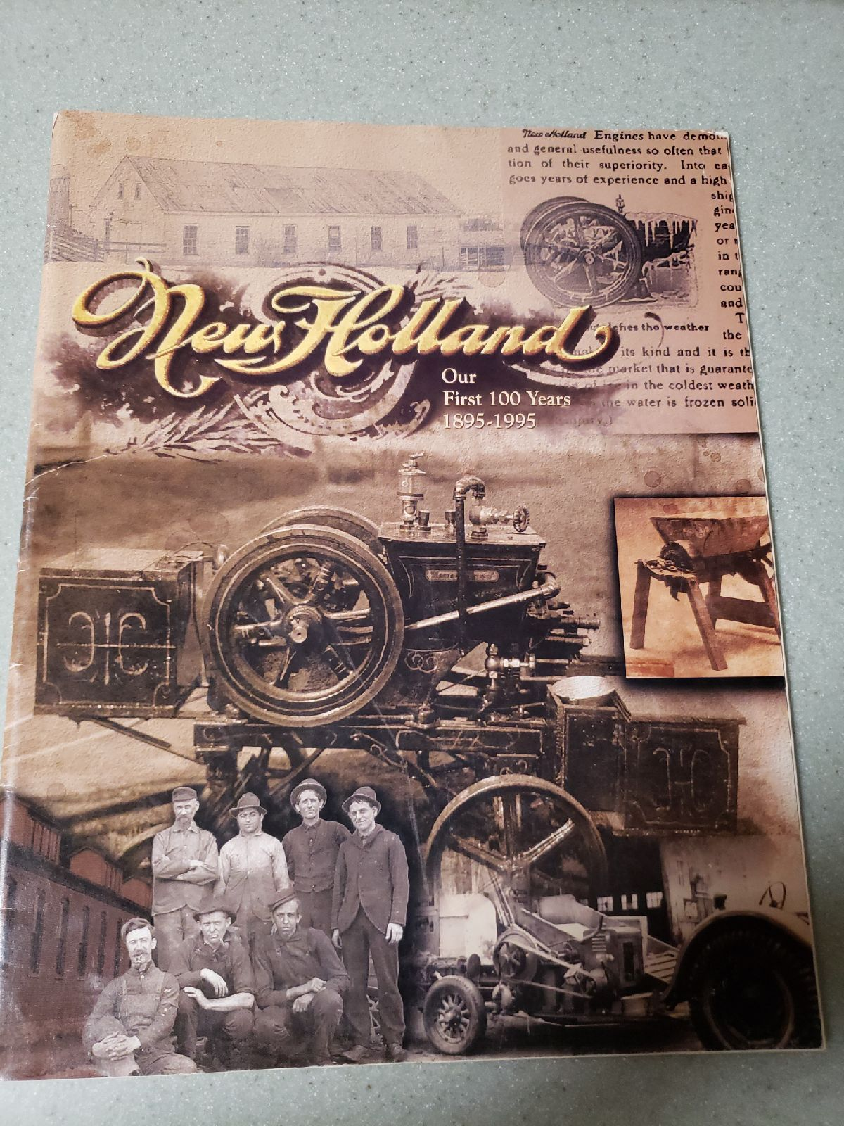 Antique/New Holland/tractors/Household