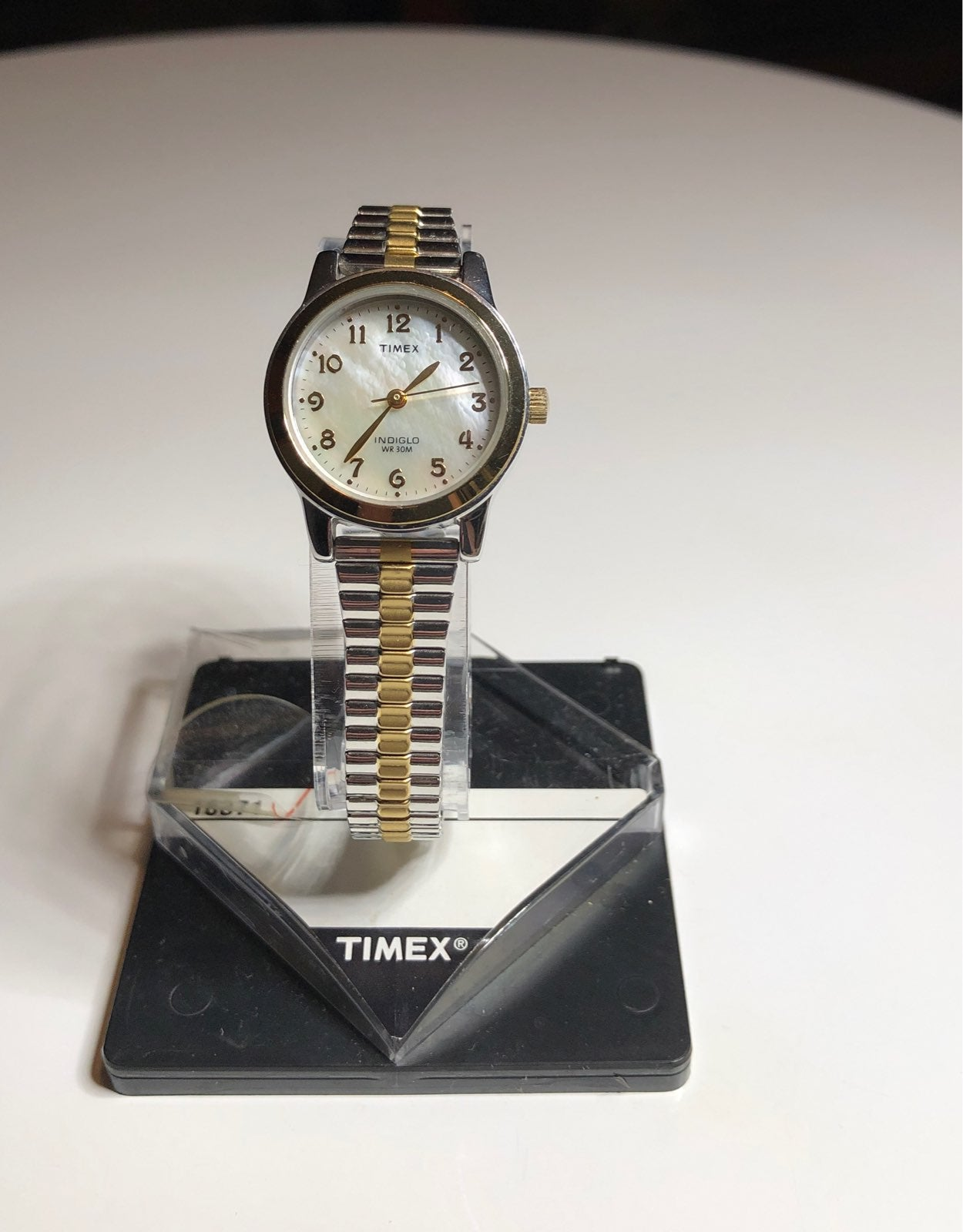 Timex T2M828 Indiglo MOP Dial Watch
