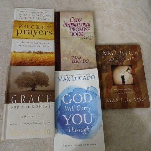 Max Lucado Lot Books