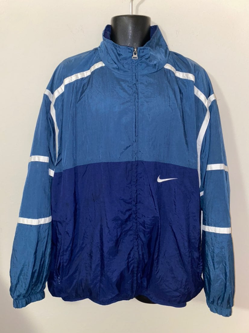 Vintage Fleece Lined Nike Windbreaker