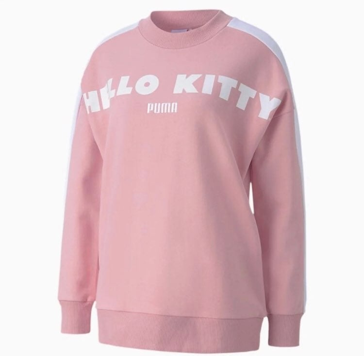 hello kitty crewneck sweater
