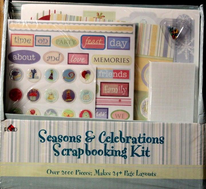 Seasons & Celebrations Scrapbooking Kit