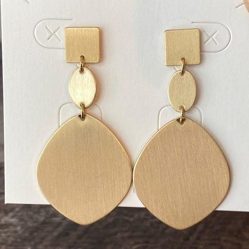 Premier Designs Gallery Gold Post Earrings