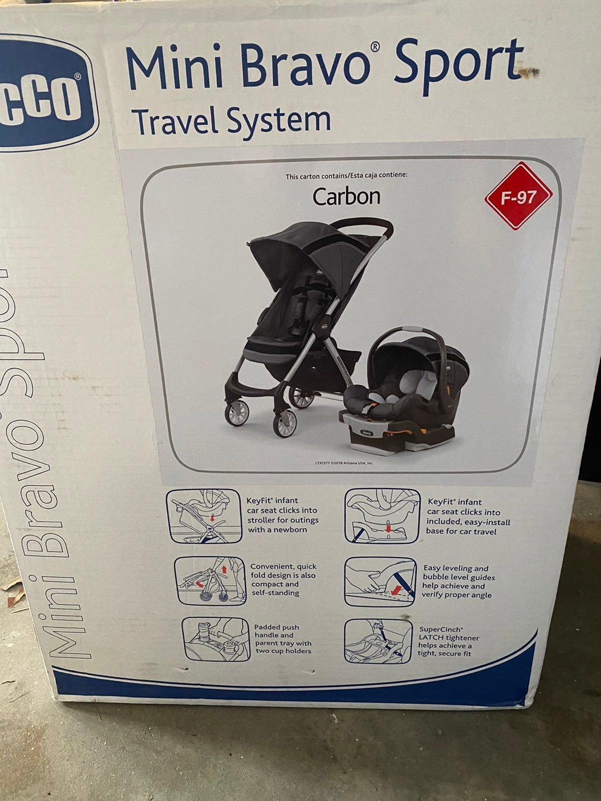 Chicco Mini Bravo Sport Travel Stoller