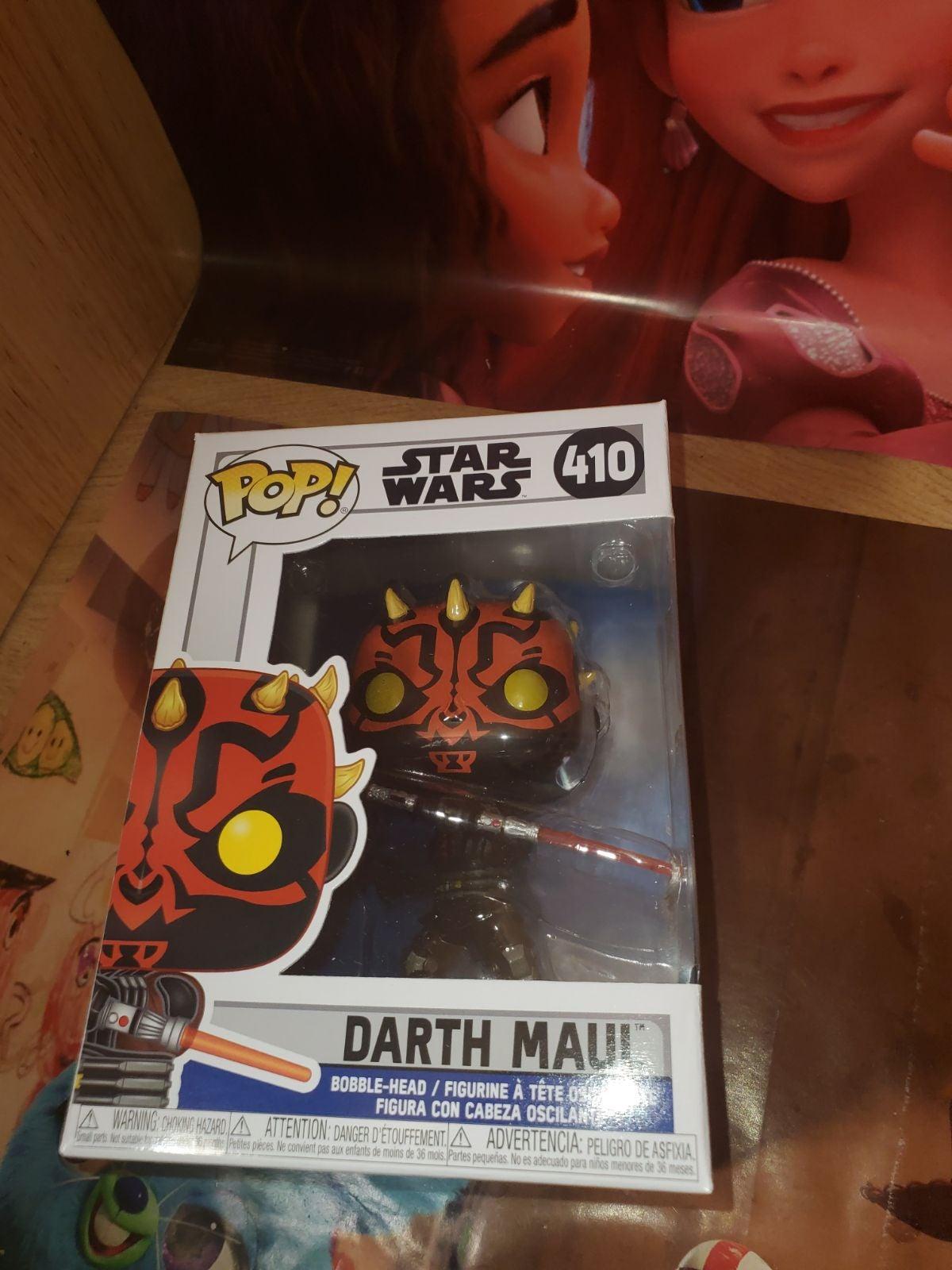 Funko Pop Star Wars Darth Maul nib