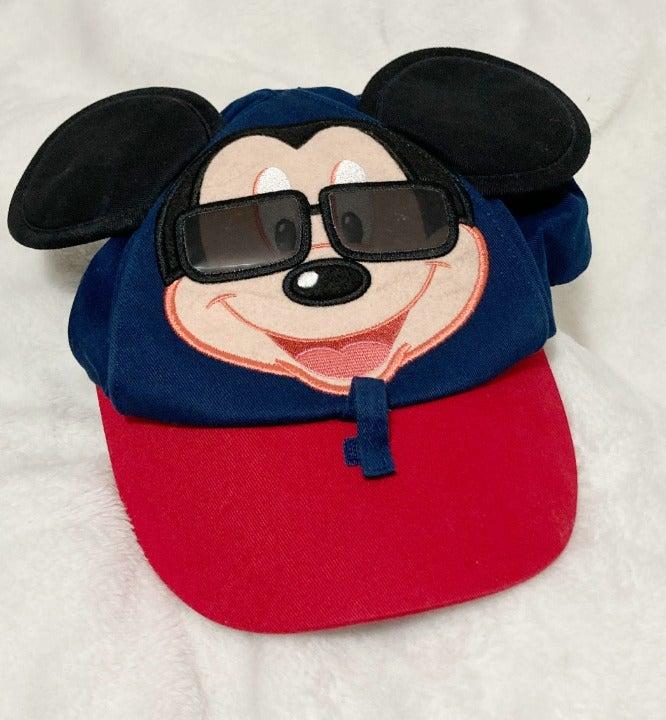 Disneyland Resort Toddler Mickey Mouse Shades Baseball Cap