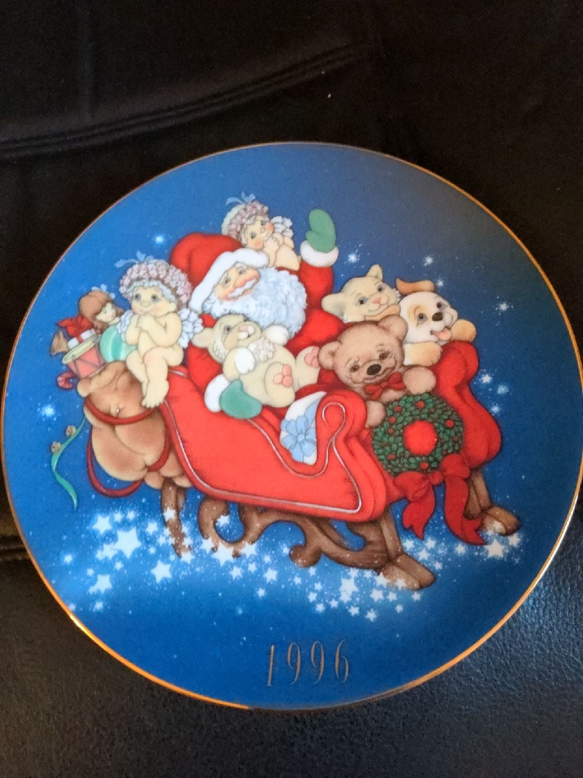 Limited edition Christmas 1996 Santa in