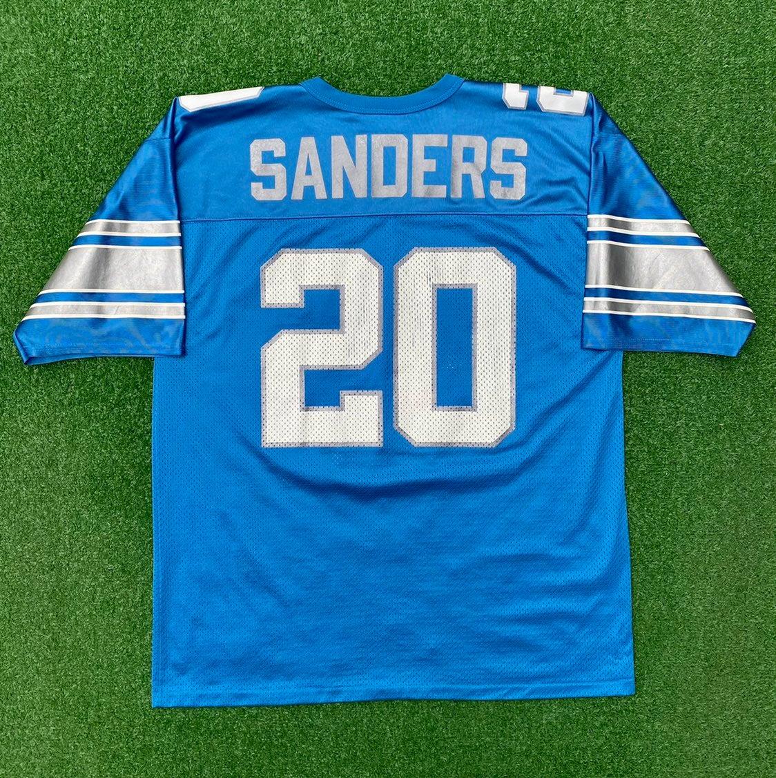 Barry Sanders Detroit Lions Jersey