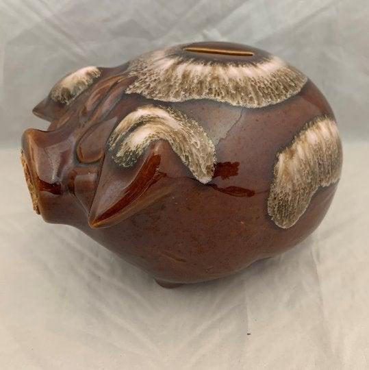 Hull Corky Pig Dripware Bank - 1957
