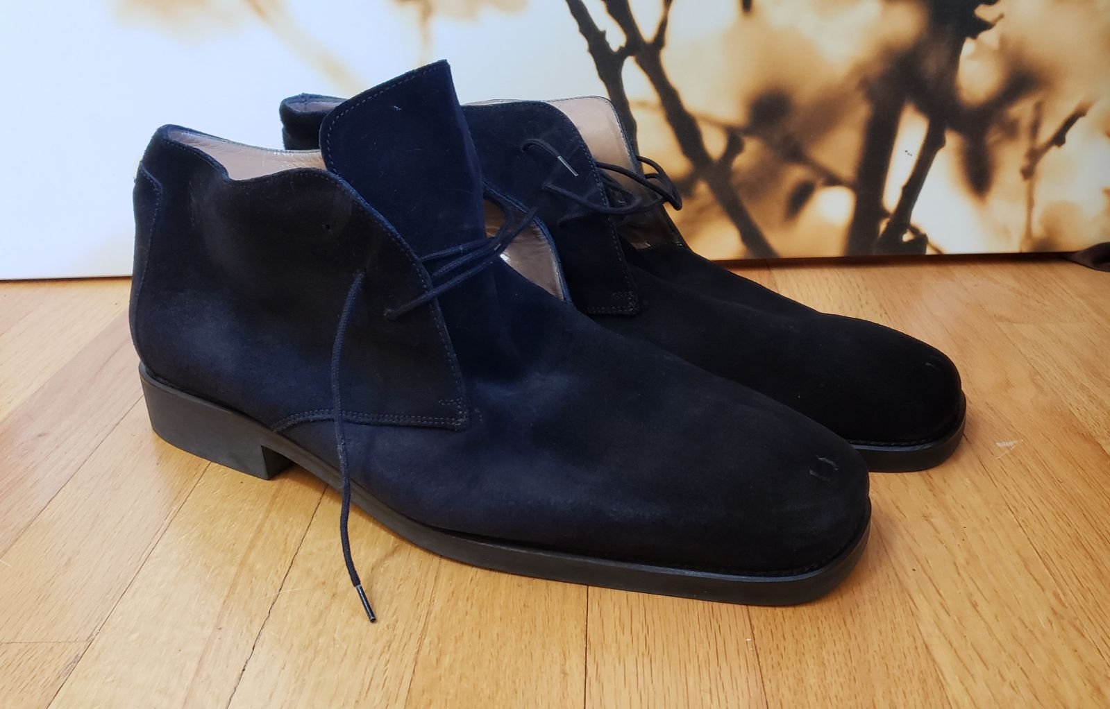 Michael Toschi Lace Up Boots size 16