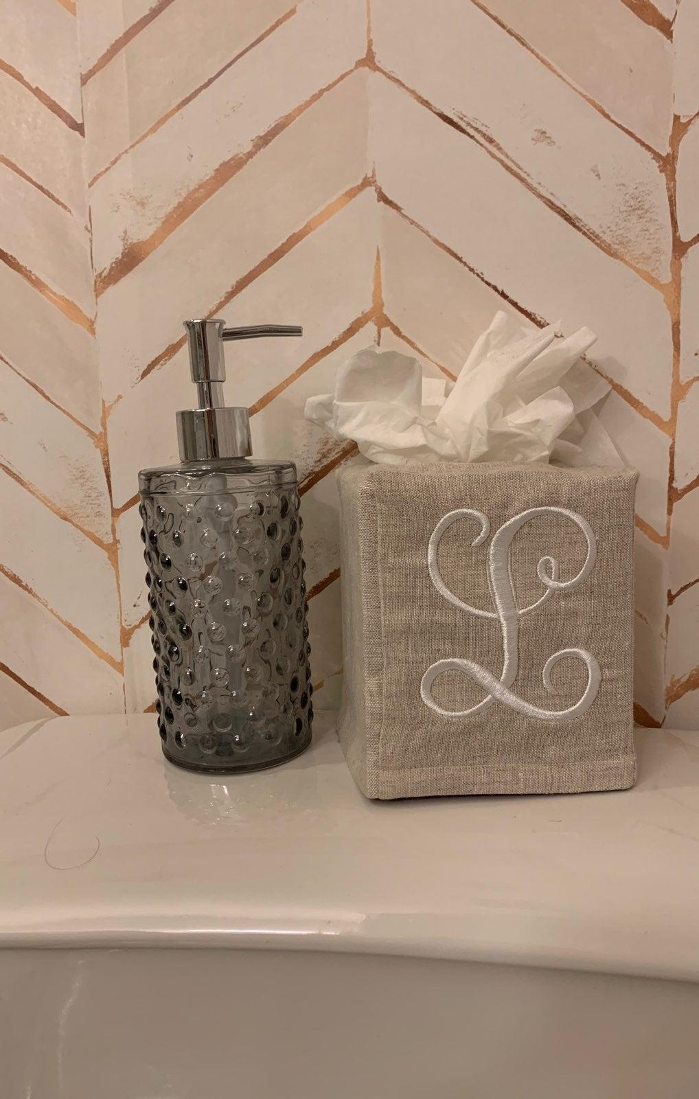 NWOT Target glass Soap Dispenser
