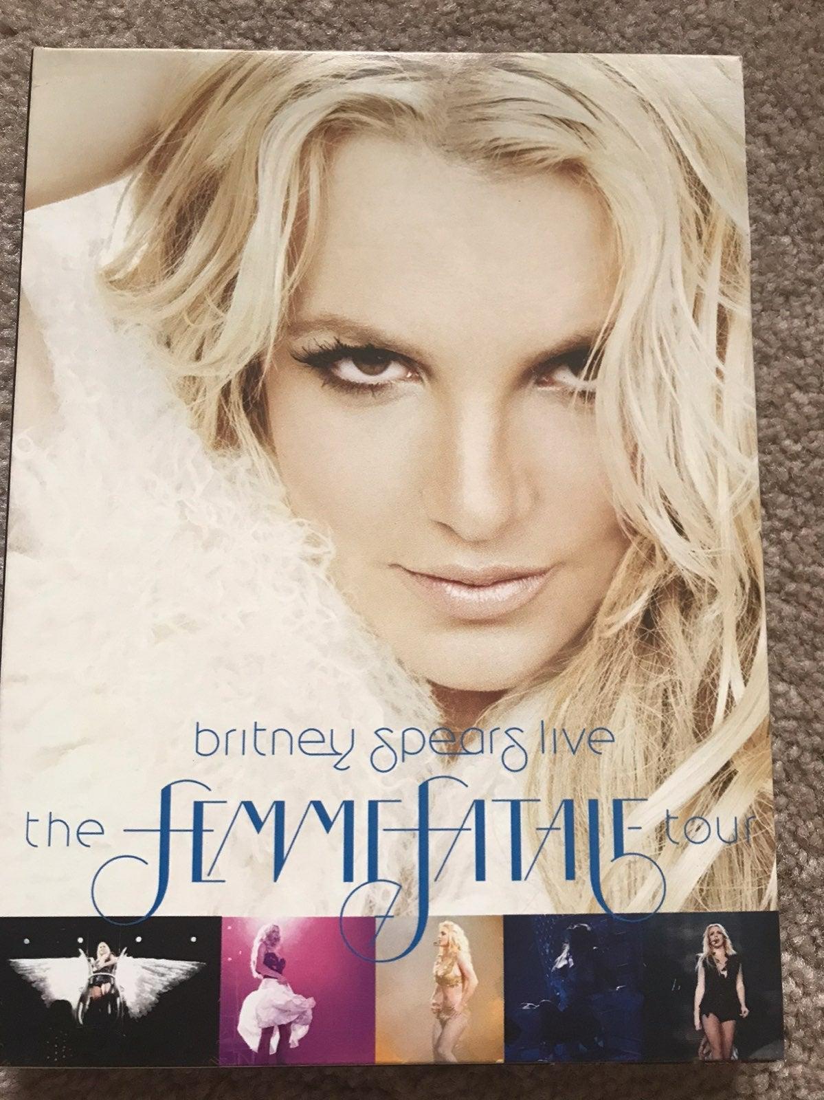 Britney spears dvd