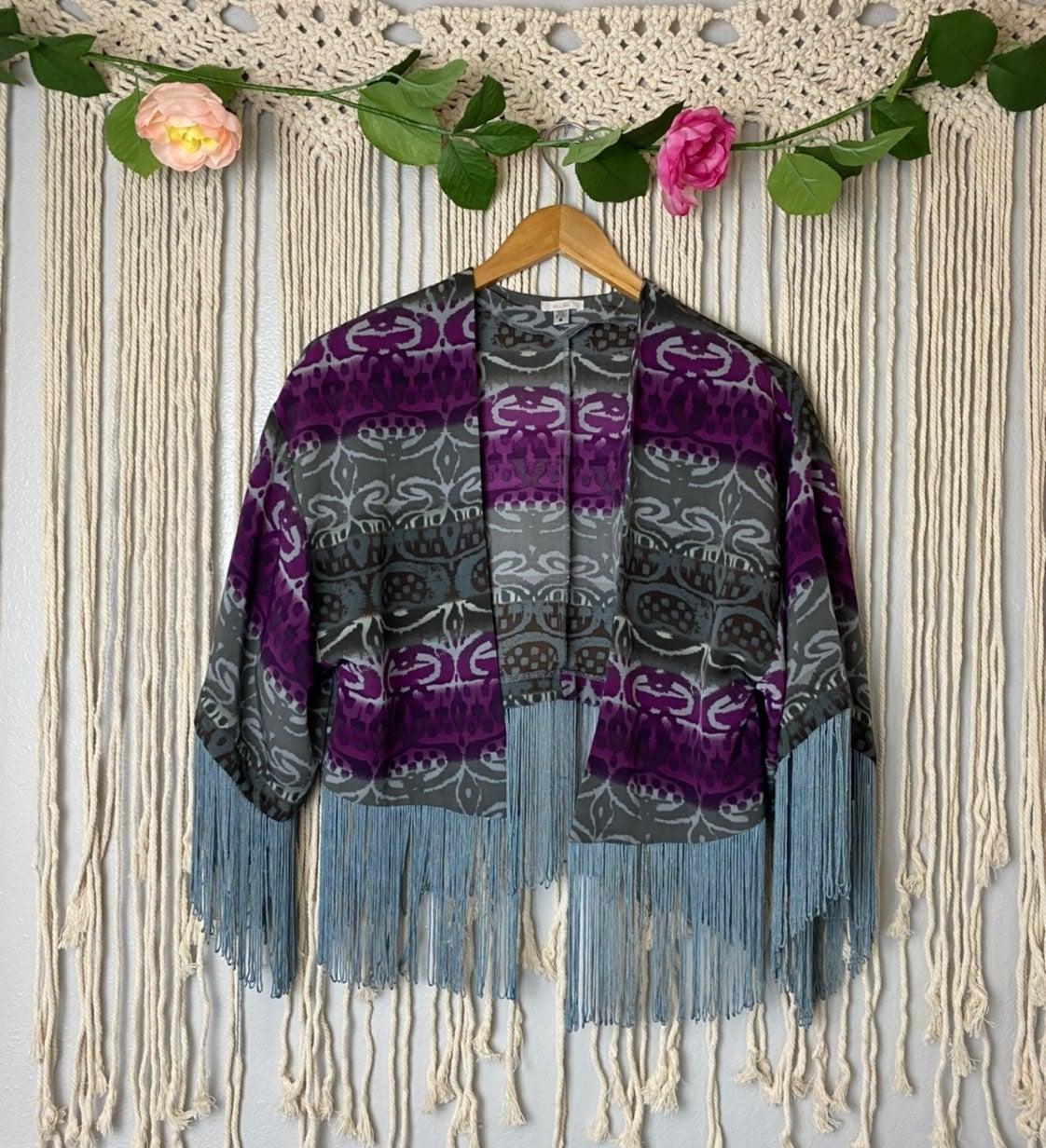 Ecoté UO Fringe Kimono