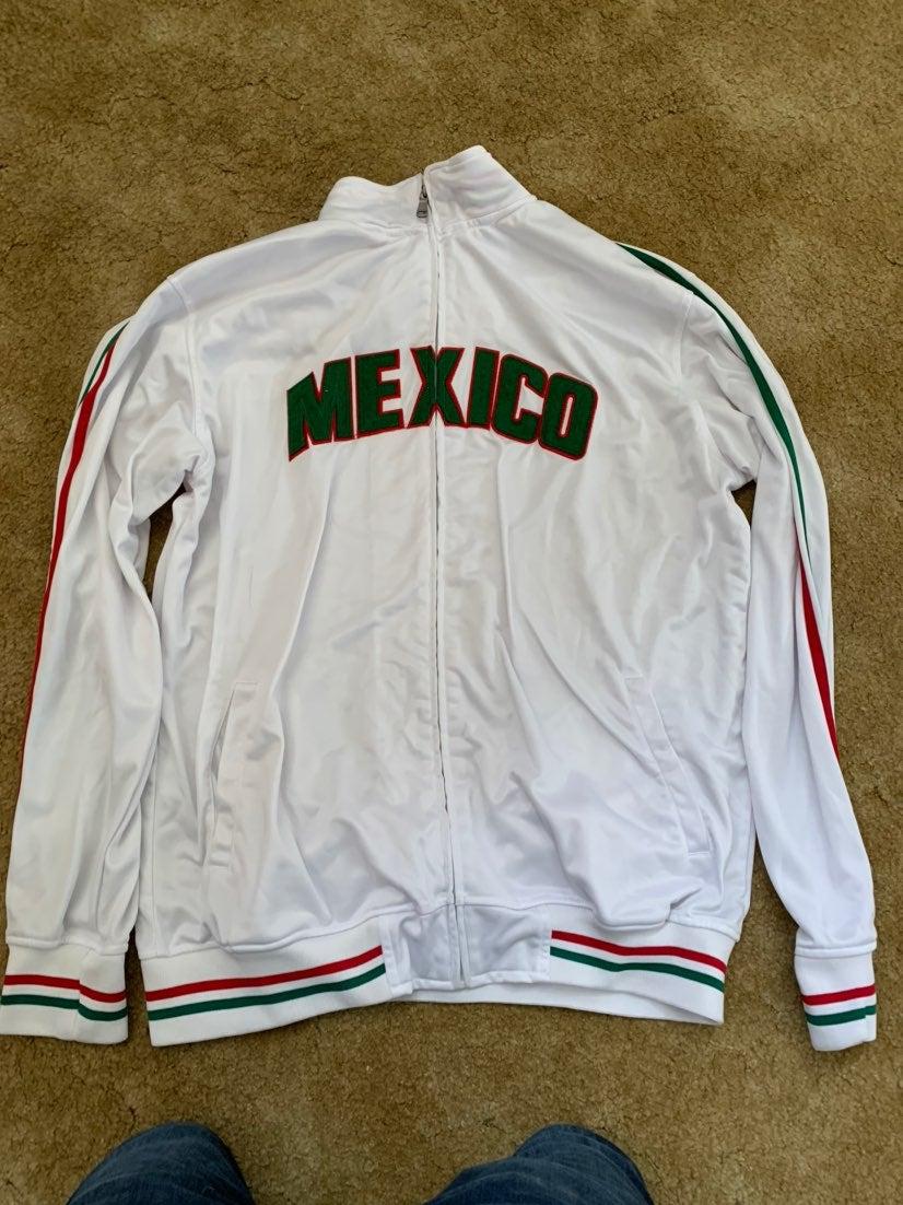 Original Deluxe Mens Mexico Zip Up Track