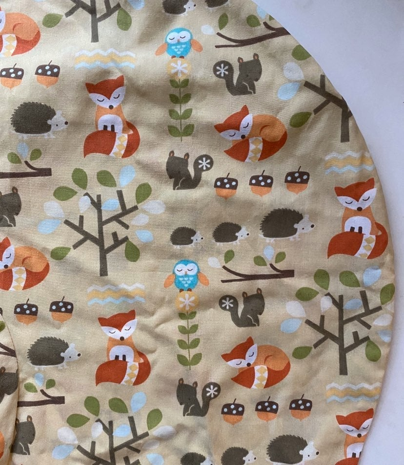 Bobby pillow cover woodland animals