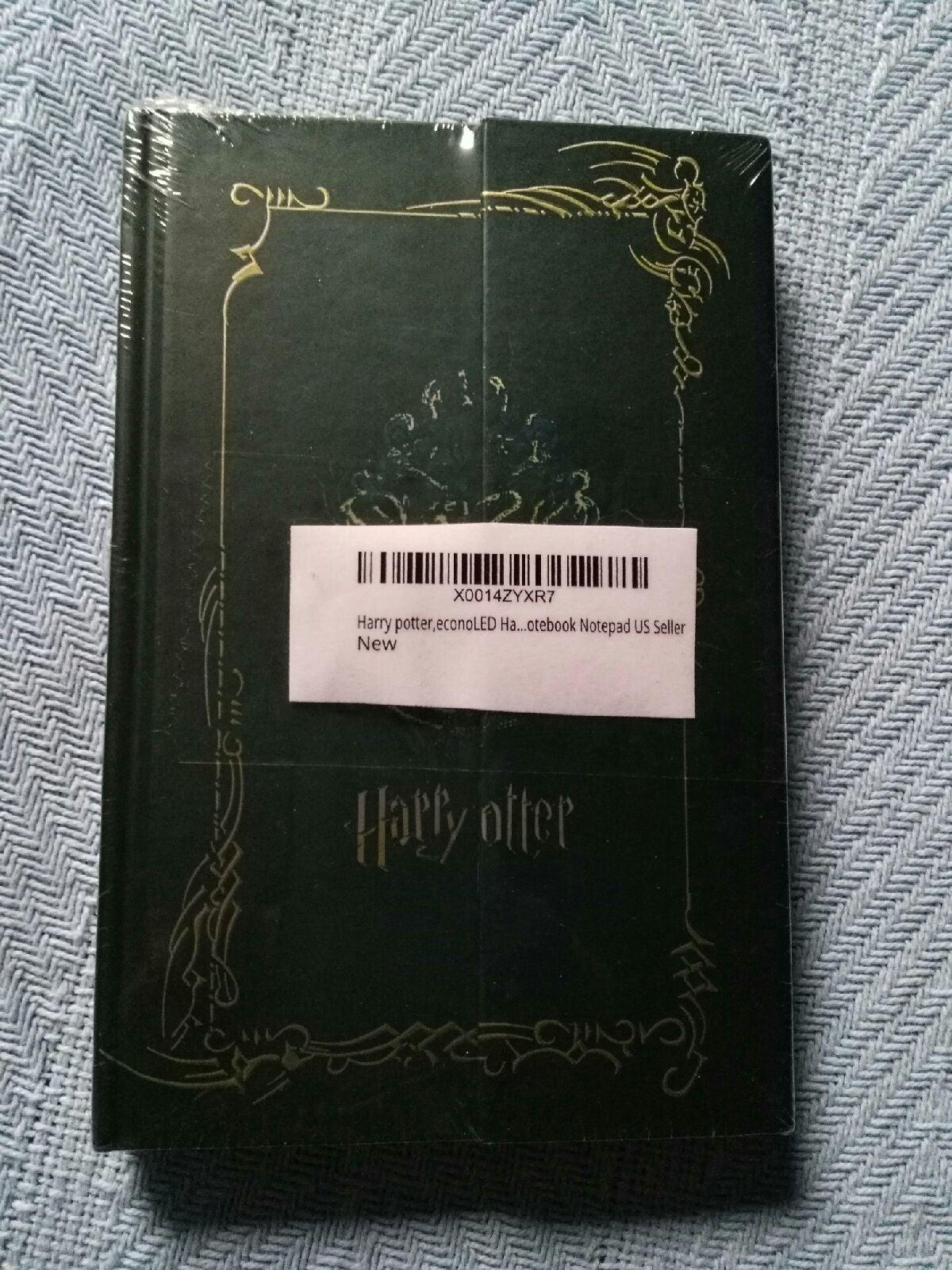 "Harry Potter Notebook  W 4""X L 6.5"" NWOT"