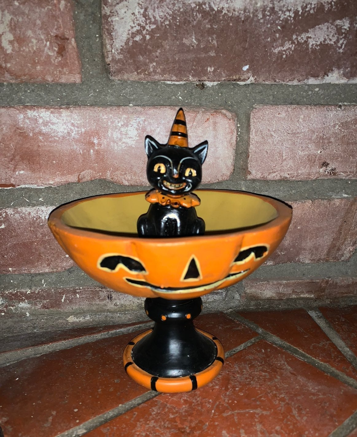 Johanna Parker Halloween Cat Bowl