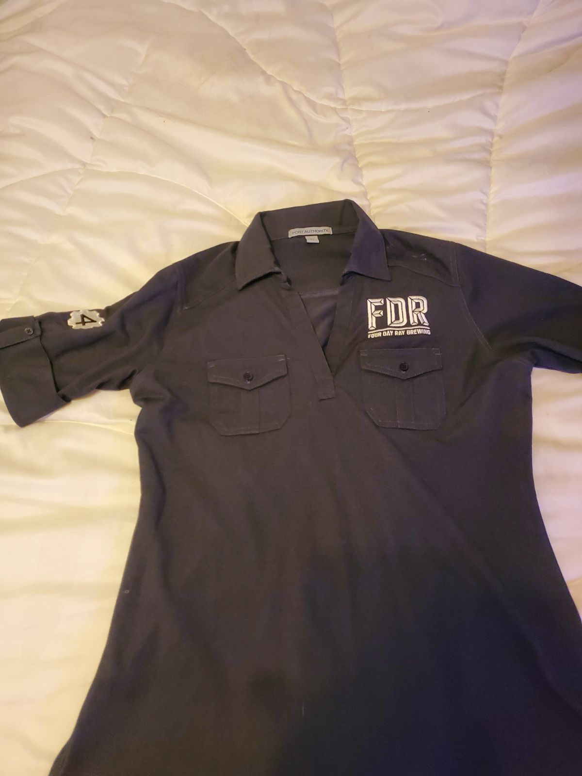 Four Day Ray Brewing ladies polo
