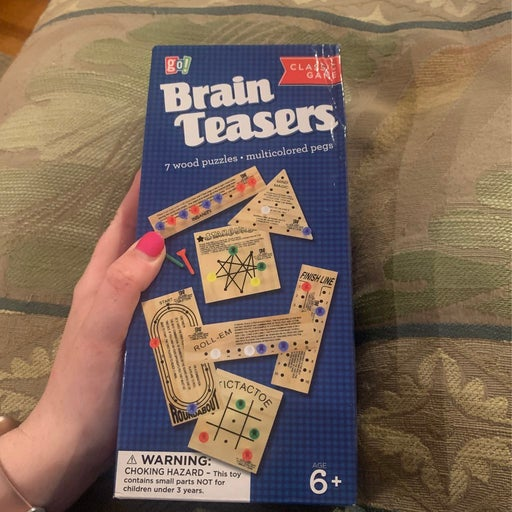 New in Box Brainteasers Game
