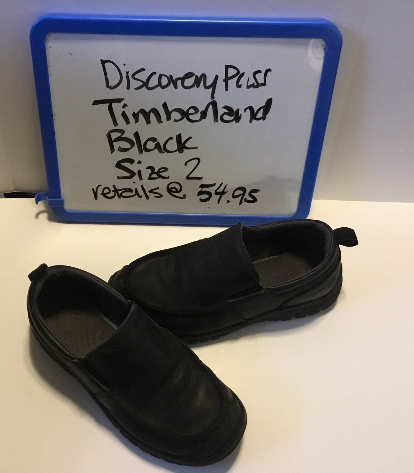 Timberland boys discovery pass size 2