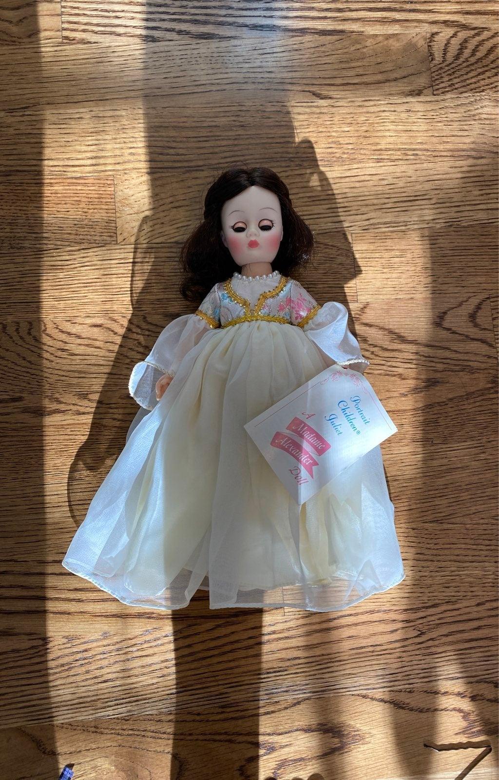 Juliet vintage madame alexander doll