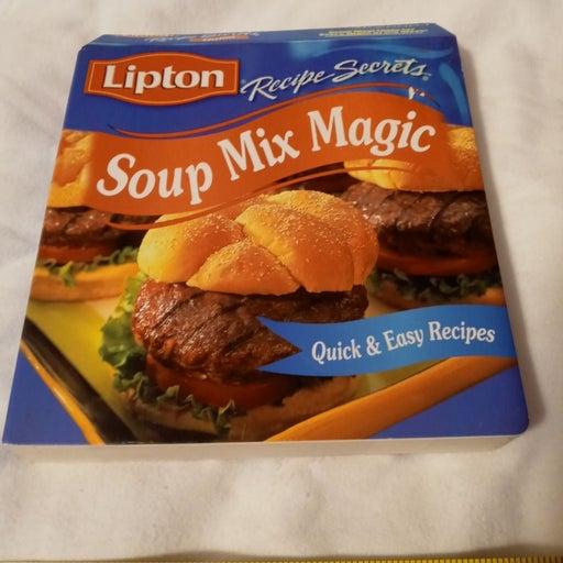 Lipton soup cookbook