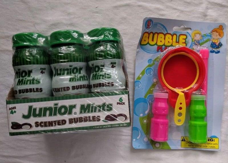 Junior Mints Scented Bubble Play Set
